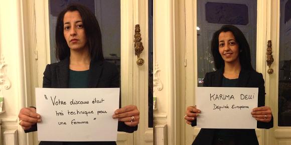 Karima Delli, députée européenne, dénonce le sexisme en politique.